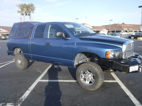 repaired 2004 Dodge Ram 2500 SLT crew cab for sale