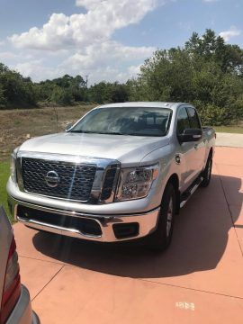 some add-ons 2017 Nissan Titan SV crew cab for sale