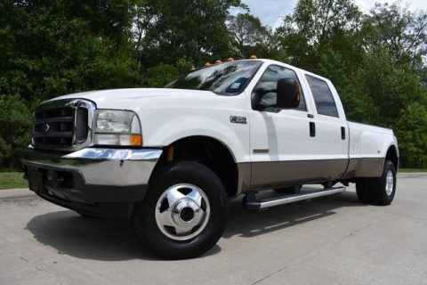 well equipped 2004 Ford F 350 Lariat crew cab for sale