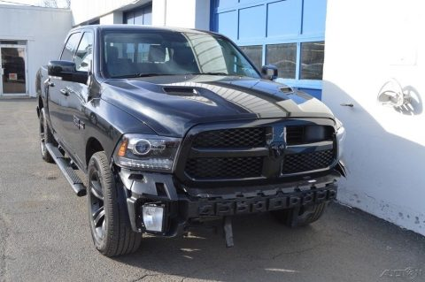 well equipped 2017 Ram 1500 Sport Night crew cab for sale