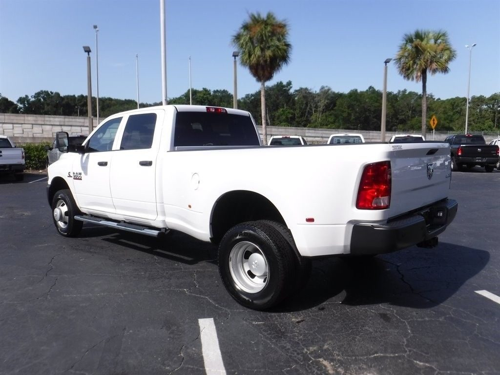 well equipped 2017 Ram 3500 Tradesman crew cab
