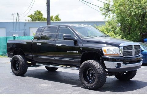 modified 2006 Dodge Ram 2500 SLT pickup for sale