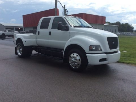 nicely converted 2005 Ford F650 crew cab for sale