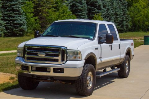 rust free 2005 Ford F 250 4WD Lariat crew cab for sale