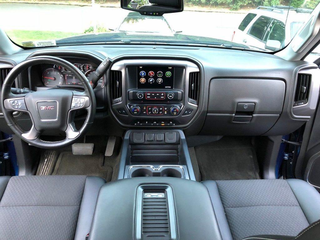 custom lift 2016 GMC Sierra 1500 SLE All Terrain crew cab