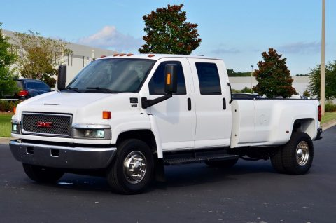 loaded 2007 GMC C 5500 Topkick crew cab for sale