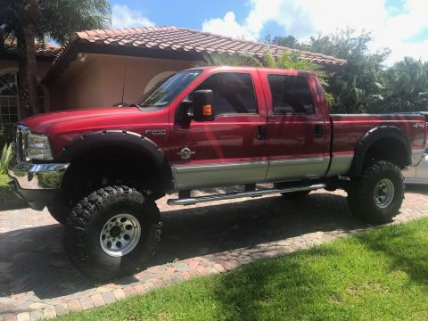 phenomenal 2003 Ford F 250 XLT crew cab for sale