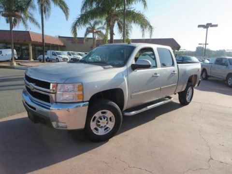 well equipped 2007 Chevrolet C2500 DSL 4X4 LTZ crew cab for sale