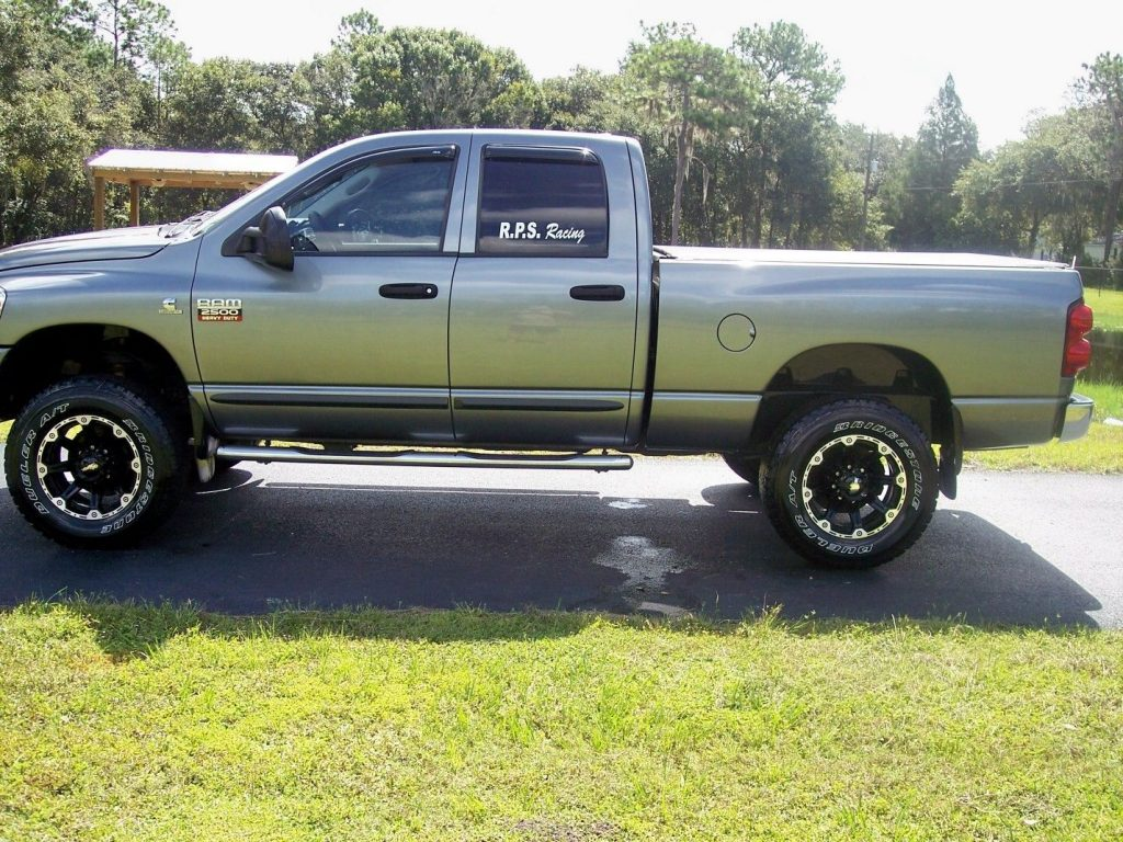 well equipped 2007 Dodge Ram 2500 Thunder Road Package crew cab