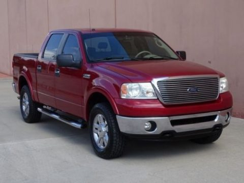well equipped 2007 Ford F 150 Lariat 4×4 crew cab for sale