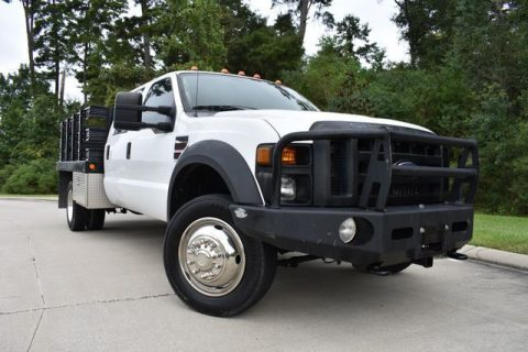awesome work truck 2008 Ford F 550 XL crew cab for sale