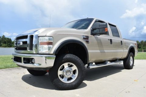 good shape 2008 Ford F 350 Lariat crew cab for sale