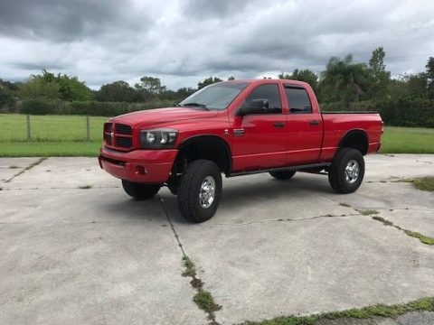 lifted 2008 Dodge Ram 2500 Sport pickup crew cab for sale