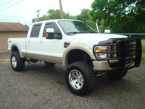 lifted 2008 Ford F 250 KING RANCH crew cab for sale