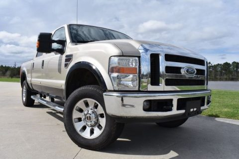 lifted 2008 Ford F 250 Lariat crew cab for sale