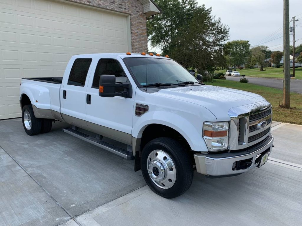 lots of extras 2008 Ford F 450 Lariat crew cab