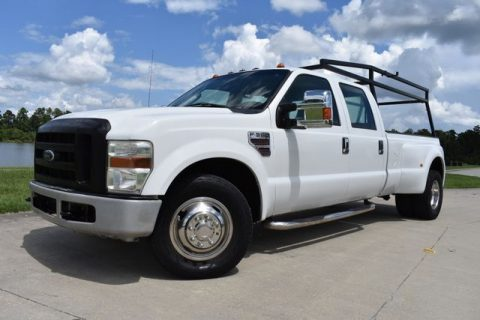 solid 2008 Ford F 350 XL super duty crew cab for sale
