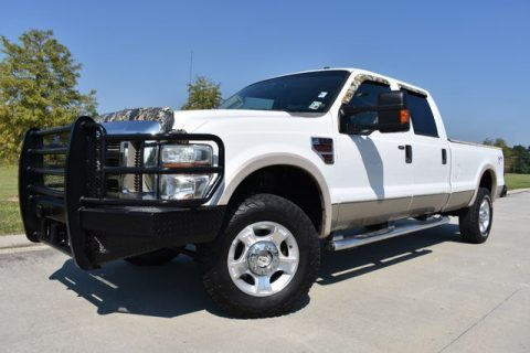 very clean 2008 Ford F 350 Lariat crew cab for sale