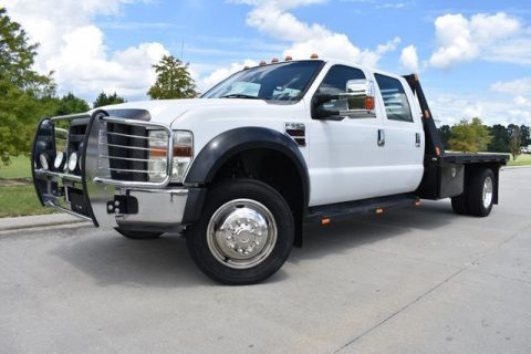 well equipped 2008 Ford F 550 XL crew cab for sale