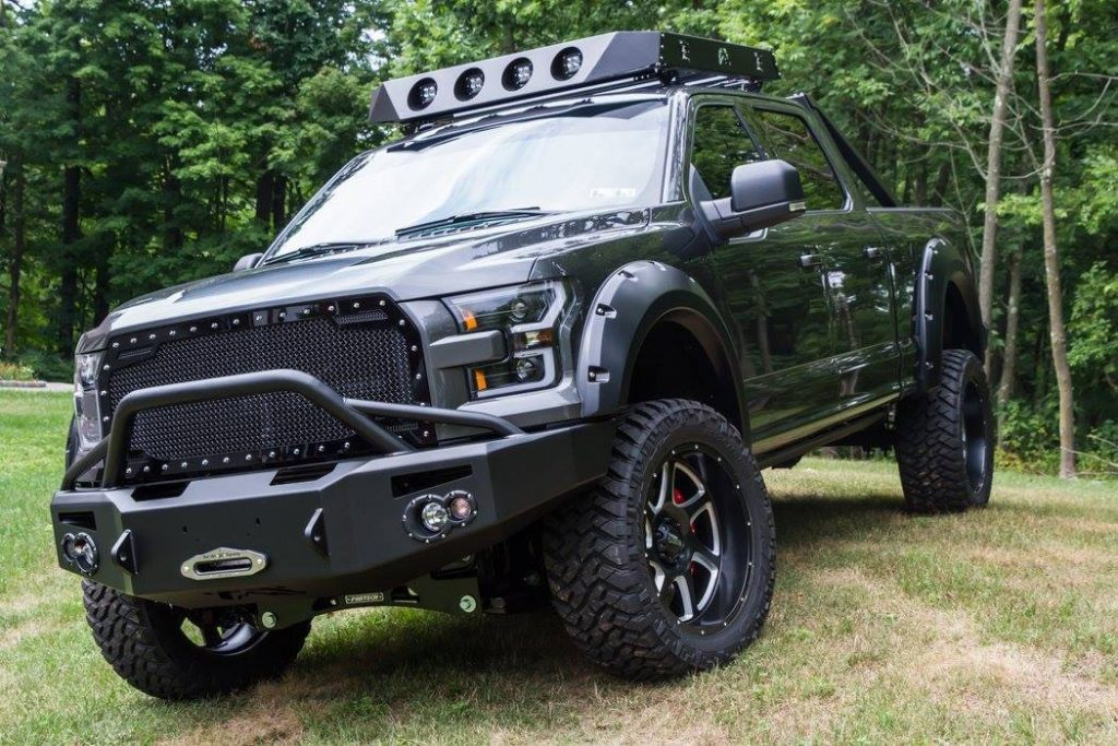 well modified 2016 Ford F 150 Super Crew Cab crew cab
