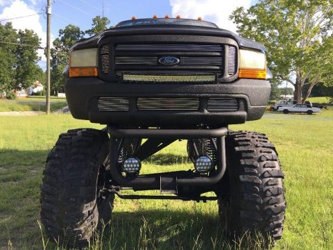well customized 1999 Ford F 250 Diesel crew cab for sale
