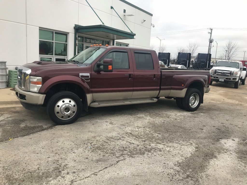 F450 King Ranch >> Low Miles 2010 Ford F 450 King Ranch Crew Cab For Sale