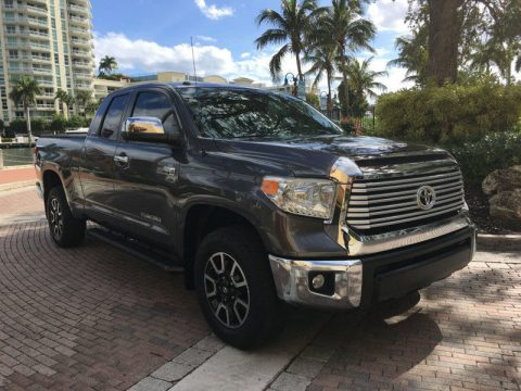 low miles 2015 Toyota Tundra crew cab for sale
