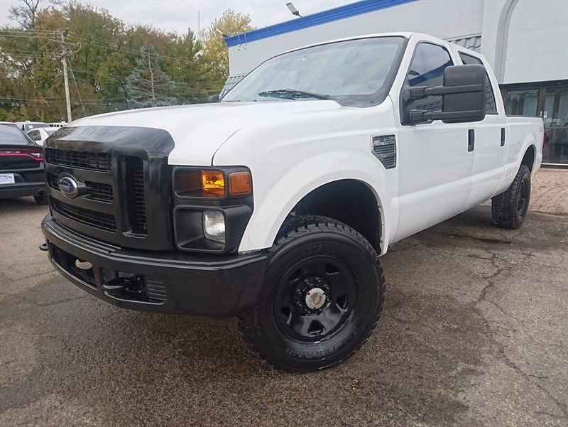 well equipped 2009 Ford F 250 XL crew cab