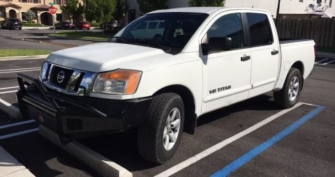 well maintained 2009 Nissan Titan SE crew cab for sale