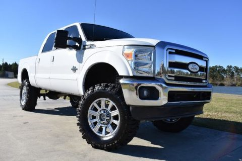 clean 2011 Ford F 250 Lariat crew cab for sale
