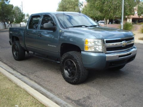 loaded 2011 Chevrolet Silverado 1500 crew cab for sale