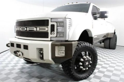 loaded custom 2017 Ford F450 King Ranch crew cab for sale