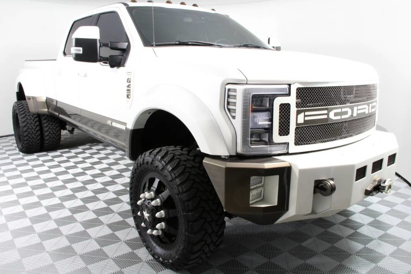 loaded custom 2017 Ford F450 King Ranch crew cab