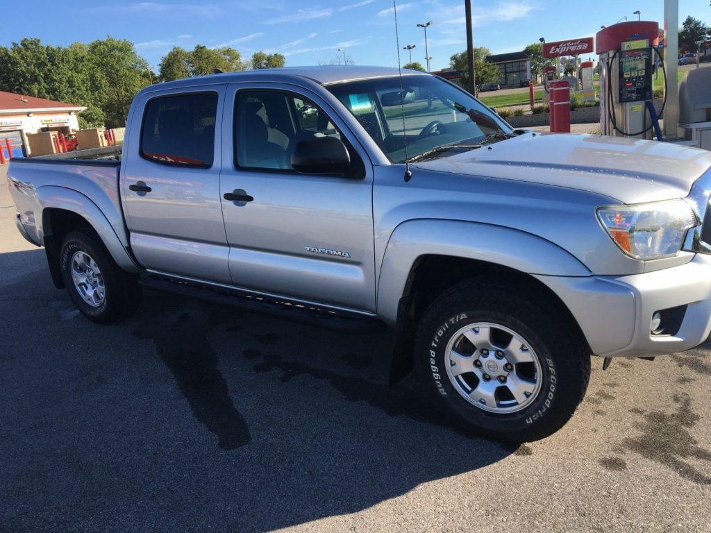 well equipped 2012 Toyota Tacoma TRD crew cab