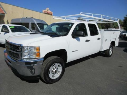 clean 2012 Chevrolet C2500 DSL 4X4 crew cab for sale