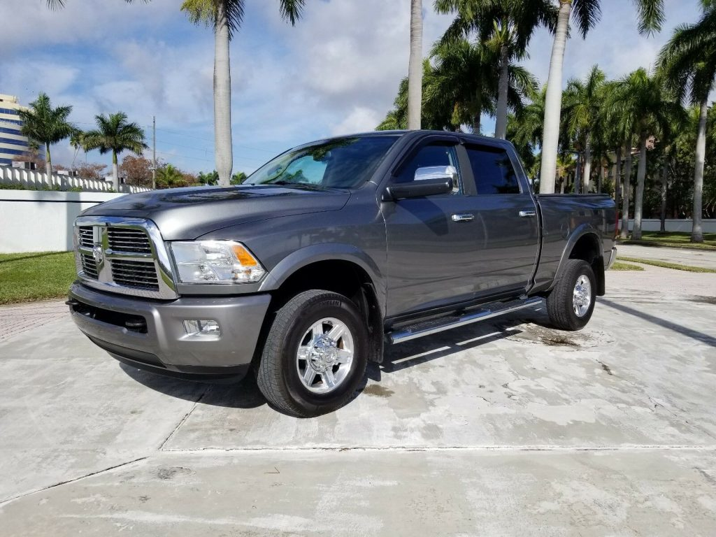 excellent shape 2012 Dodge Ram 3500 Limited Laramie LONGHORN crew cab