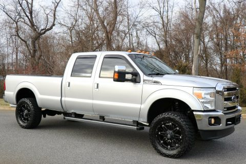 fully loaded 2012 Ford F 350 LARIAT crew cab for sale