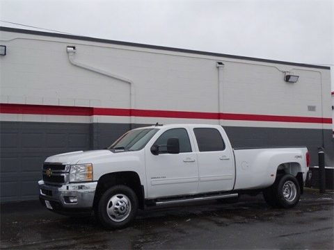 loaded 2012 Chevrolet Silverado 3500 LTZ crew cab for sale