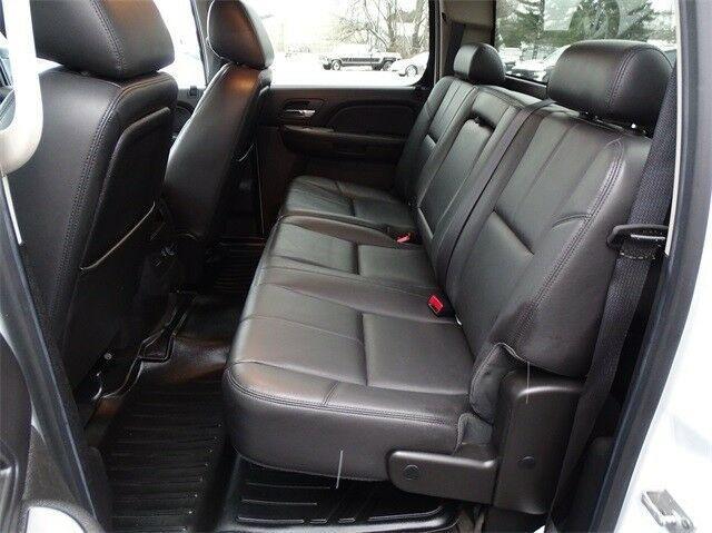 loaded 2012 Chevrolet Silverado 3500 LTZ crew cab