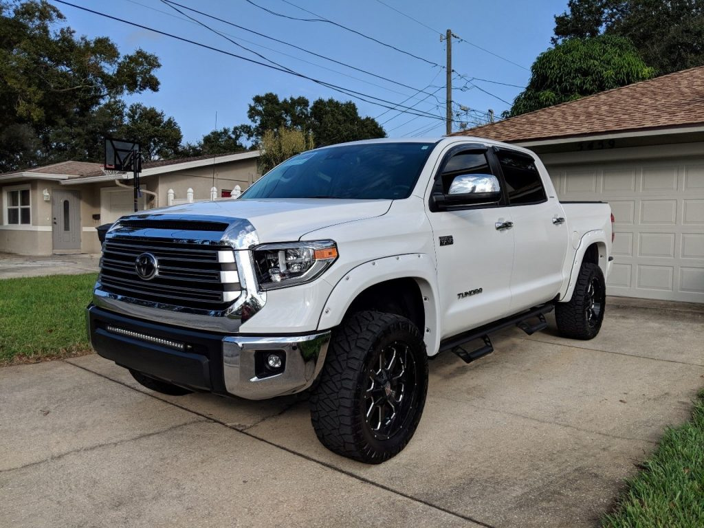 low miles 2018 Toyota Tundra Limited crew cab