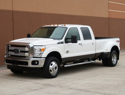 nice and clean 2012 Ford F 350 Lariat crew cab for sale