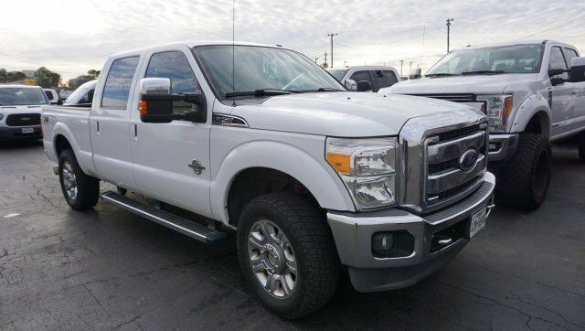 nicely equipped 2012 Ford F 250 LARIAT crew cab