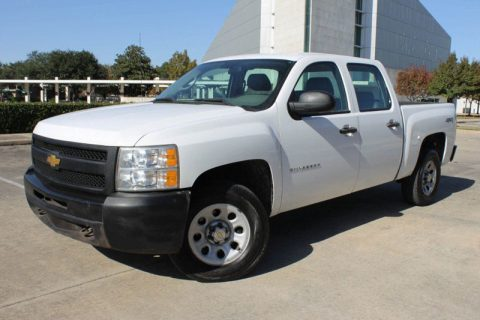 well equipped 2012 Chevrolet Silverado 1500 Crew Cab for sale