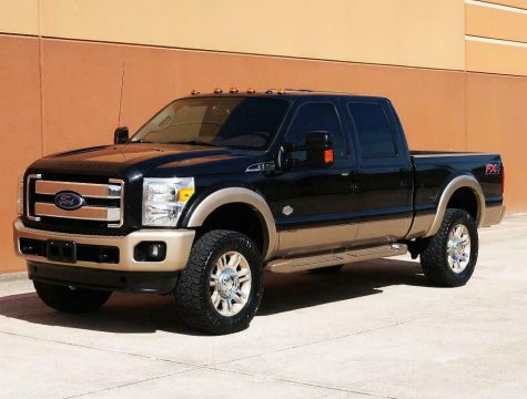loaded 2013 Ford F 250 KING Ranch crew cab for sale