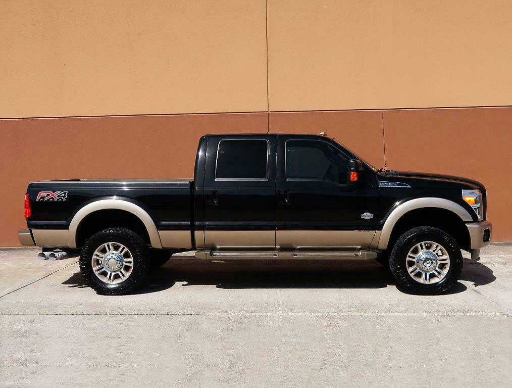 loaded 2013 Ford F 250 KING Ranch crew cab