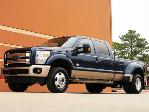 loaded 2013 Ford F 350 crew cab for sale