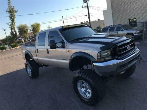 monster badass 1999 Ford F 250 XLT 7.3 DIESEL crew cab for sale