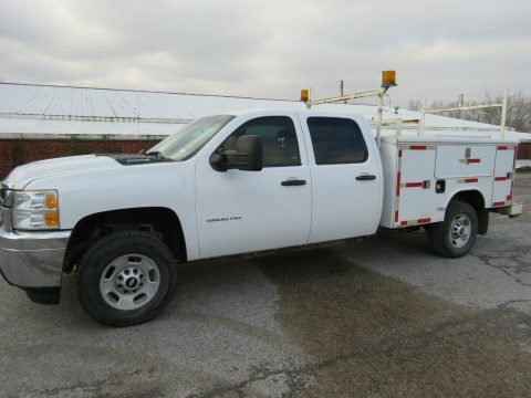 utility bed 2013 Chevrolet Silverado 2500 crew cab for sale