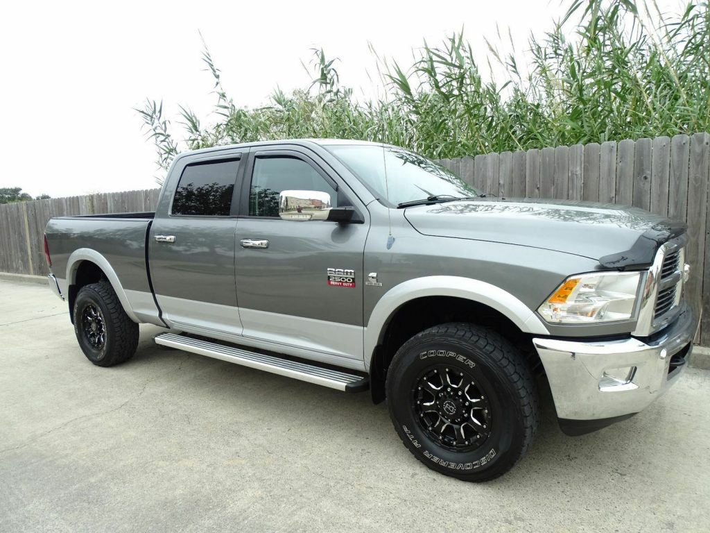well equipped 2012 Dodge Ram 2500 Laramie crew cab