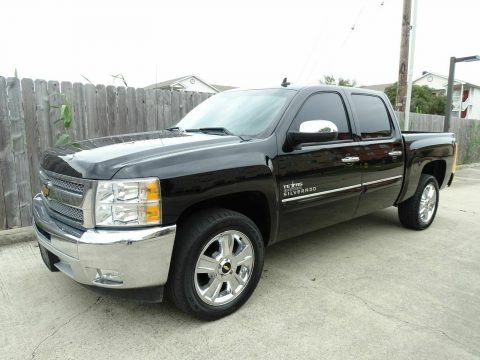 well equipped 2013 Chevrolet Silverado 1500 LT crew cab for sale